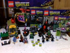 april 2013 Lego Creations, Arcade Games
