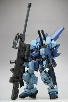 "HGUC 1/144 GM Sniper ""FIERCENESS"" Custom Build - Gundam Kits Collection News and Reviews"