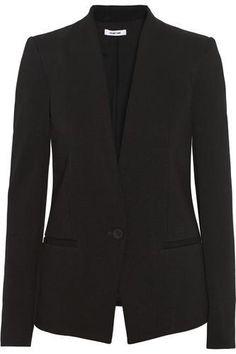 Gala stretch-twill blazer #jacket #covetme #helmutlang