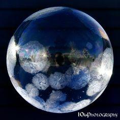 Freezing Bubble