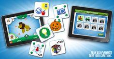 LEGO - Creationary Mobile Apps and Facebook by Dan Ferguson, via Behance