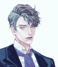 Anime Boy Hair, Hot Anime Boy, Anime Guys, Short Hair Drawing, Guy Drawing, Short Spiky Hairstyles, Slick Hairstyles, Handsome Older Men, Handsome Anime