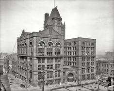 "Kansas City, Missouri, circa 1906. ""Board of Trade Building."""