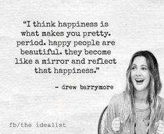 Οι Μεγάλες Αλήθειες της Τετάρτης Drew Barrymore, Happy People, Reflection, Pretty, Quotes, How To Make, Beautiful, Quotations, Quote