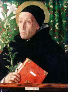 Portrait of Fra Theodoro da Urbino, 1515  -   Giovanni Bellini