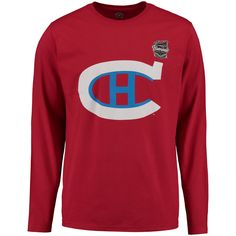 Men's Montreal Canadiens Rinkside Red 2016 Winter Classic Long Sleeve T-Shirt