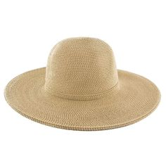 Jeanne Simmons Cotton Toyo Straw Wide Brim Hat - 8641. Cotton 9dbcc4e696d3
