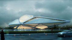 远洋云展示中心 2011 Cloud Exhibition Center Client: Yuanyang Location: Beijing building area: 4500 m2