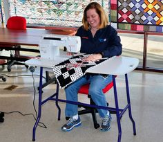 Let's Get Organized: Week 36 - Sewing Tables - TheQuiltShow.com