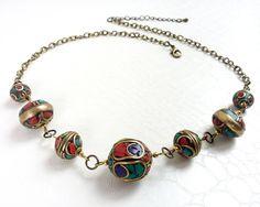 Berber necklace by MercysFancy on Etsy