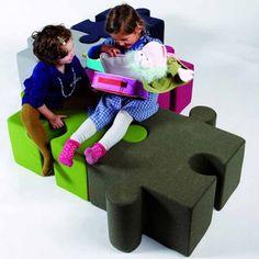 modern pouf design pour enfants et les grands