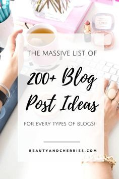 Click through to get the 200+ Ideas For Your Next Blog Post  and this is for any types of blogs! Start creating killer content now!
