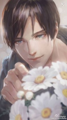 I don't know if this cutie is a eren fan art or not but he DO look like eren Anime Boys, Chica Anime Manga, Hot Anime Guys, Character Inspiration, Character Art, Ange Demon, Guy Drawing, Human Art, Boy Art