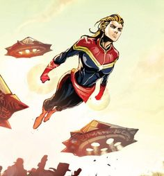 Still my favorite artist from Captain Marvel. So pretty, so badass.
