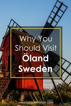 Reasons you should add the island of Öland to your Sweden travel itinerary. Located just off the east coast of Sweden, it's a perfect summer destination and a firm favorite of the locals. | Geotraveler's Niche Travel Blog