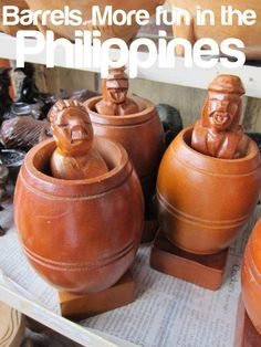 BARRELS. More FUN in the Philippines! Philippines Tourism, Tourism Department, Barrels, Pinoy, Filipino, More Fun, Yup, Pride, Childhood