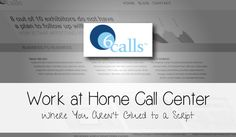 Work at Home Call Center Job with 6Calls
