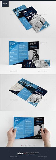 Corporate Blue Trifold Template #design #broschüre Download: http://graphicriver.net/item/corporate-blue-trifold/12249971?ref=ksioks