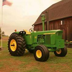Simplicity is Happiness Antique Tractors, Vintage Tractors, Vintage Farm, Old John Deere Tractors, Jd Tractors, John Deere 6030, Pictures Of America, Allis Chalmers Tractors, John Deere Equipment