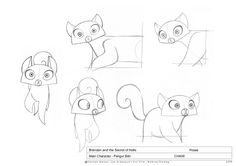 Art of Animation Character Sketches, Character Drawing, Character Concept, Concept Art, Character Design, Main Character, Cartoon Sketches, Cartoon Styles, Animation Reference