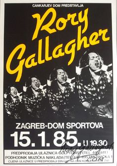 Rory Gallagher - Zagreb, Yugoslavia 1985