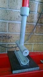Sheetmetal Press Tool by Astro -- I made this tool originally to press 1mm sheet steel into a U shape for making corner gussets in a tube frame chassis.  I made it to mount in my small hydraulic shop press. After making some gussets I thought of an additional use for the tool, making brackets that clamp to chassis rails. All that was required was to make a plate which can be removed when in 'gusset mode'.. One tip to remember is to allow clearance for your sheet metal when you are making...