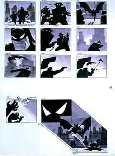 Batman the Animated Series Storyboards - Page 07