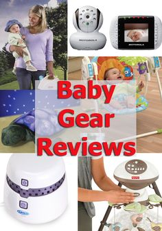 Reviews of sleep-related baby gear