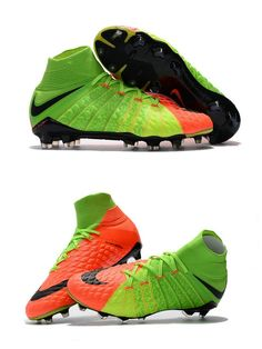 pretty nice e08b5 98ac5 News Nike Hypervenom Phantom 3 DF FG Boots Electric Green Orange Black.  Soccer