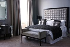 Portfolio of interior design projects in and around London – sleep & dress comfortably