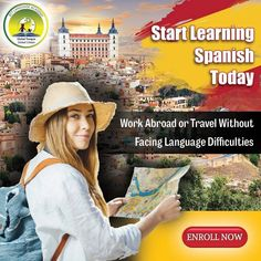 Work Abroad or travel Without Facing Language difficulties Spanish Language Courses, Interview Training, Work Abroad, Global Citizen, Learning Spanish, How To Introduce Yourself, Travel, Spanish Courses, Learn Spanish