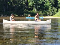 Students in a Grand Rapids Community College summer camping and canoeing course got to put their skills to the test.