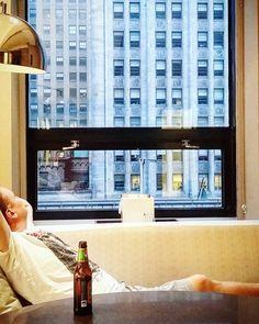 Walking around Manhattan is hard work. Time to stretch out at @GrandHyattNYC #LivingGrandNYC  #hotelview #viewfromhotel #newyork #nyc #manhattan #ilovenewyork #hotel #hotelli #travel #matka #reissu (via Instagram)