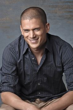 Wentworth Miller - great smile, dreamy eyes and beautiful body. awww.