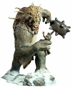 Joining Sideshow's line of 'The Lord of the Rings' collectibles, the Snow Troll Statue captures the ferocity of one of Middle-earth's most formidable creatures Troll, Fantasy Miniatures, Movie Props, Marvel, Dark Fantasy Art, Movie Characters, Lord Of The Rings, The Hobbit, Concept Art