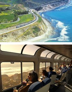 The Amtrak Coast Starlight train offers spectacular views of Washington, Oregon, and California. Vacation Places, Vacation Spots, Places To Travel, Places To See, Travel Destinations, Vacation Deals, Travel Deals, Travel Hacks, Travel Essentials