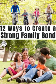 How to Build a Strong Family Identity using these 12 ideas to help create a powerful family bond. Self Esteem Activities, Family Activities, Gentle Parenting, Parenting Advice, Sibling Relationships, Strong Family, Family Bonding, Parenting Teenagers, Pastor