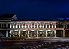 Ministry of Design transforms five Malaysian shophouses into a boutique hotel.