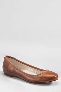 Women's Emma Classic Ballet Shoes from Lands' End