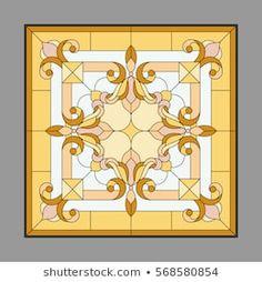 tanzellita: портфолио стоковых фотографий и изображений | Shutterstock Living Room Partition, Boarders And Frames, Mandala, Pooja Rooms, Custom Windows, Stained Glass Patterns, Portfolio, Stained Glass Windows, Glass Design