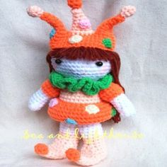 free crochet patterns to print | CLOWN CROCHETING PATTERN « CROCHET FREE PATTERNS