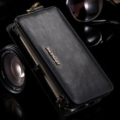 FLOVEME Note 3 4 5 Retro Wallet Leather Case For Samsung Galaxy S6 edge Plus S7 for iPhone 5s SE 6 6s 7 Plus P9 Cover Coque Bags