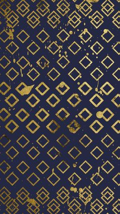 Navy and gold diamond pattern wallpaper for your mobile/cell phone, tablet or desktop computer