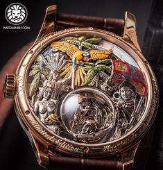 Casebacks are underrated! Beautiful art on the back of Zenith Academy Christophe Colomb.