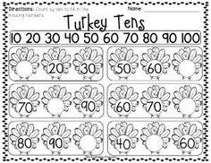 Tons of Kindergarten math and literacy activities for November! by Luzmavela