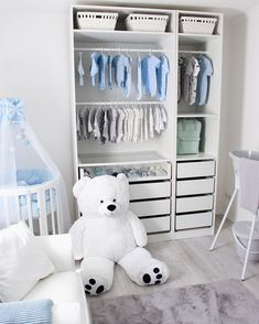 Baby wardrobe Ikea The baby room for our little man is finally ready! Today I show you the complete facility The Baby wardrobe Ikea The baby room for our little man is finally ready! Today I show you the complete facility The Ikea Baby Room, Baby Bedroom, Baby Boy Rooms, Baby Room Decor, Baby Boy Nurseries, Nursery Room, Girl Nursery, Kids Bedroom, Room Baby