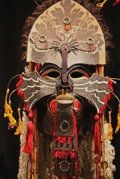 Gwynn Popovac's masks 26 by blackhawk32, via Flickr http://www.flickr.com/photos/blackhawk32/5045901023/in/photostream/