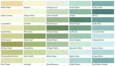 paint color chips | Paint Colors - House Paints Colors - Martin Senour Paint Chart, Chip ...