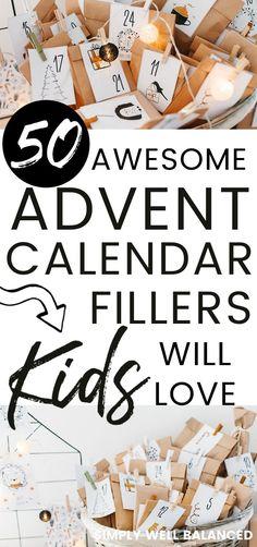 Candy Advent Calendar, Advent Calendar Fillers, Advent Calander, Homemade Advent Calendars, Advent Calendar Activities, Advent Calendars For Kids, Christmas Calendar, Kids Calendar, Christmas Advent Ideas