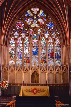 Exeter Cathedral II by dgowre Ripon Cathedral, Exeter Cathedral, Worcester Cathedral, Norwich Cathedral, Lincoln Cathedral, Cathedral Church, Romanesque Architecture, Art And Architecture, Devon And Cornwall